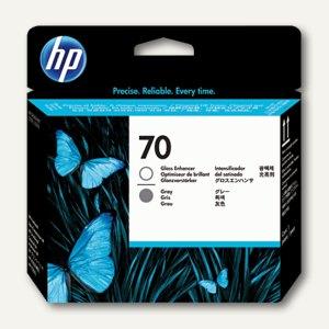 HP Druckkopf Nr. 70, Glanzoptimierer + grau, 130 ml, C9410A