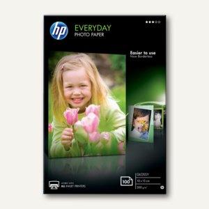 HP Everyday Fotopapier, 10 x 15 cm, glossy, 200 g/m², 100 Blatt, CR757A