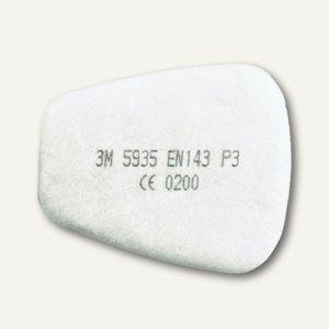 Partikel-Einlegefilter P3R für Atemschutzmasken Serie 6000/7000, 20 Stück, 5935