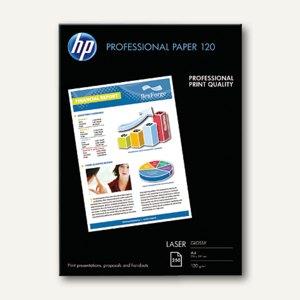 HP Laserpapier PROFESSIONAL PAPER, DIN A4, glänzend, 120 g/m², 250 Blatt, CG964A