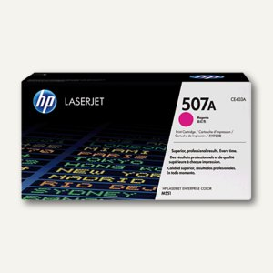 HP Lasertoner 507A, ca. 6.000 Seiten, magenta, CE403A