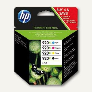 HP Tintenpatronen Nr.920A, Multipack, CMYK, 4 Patronen, C2N92AE