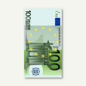 Motivservietten One Hundred Euro
