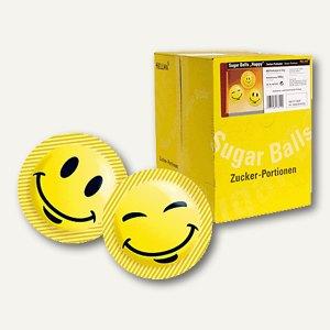 """Hellma Zucker Balls """"Happy"""", 400 Portionen à 3.6 g/Karton, 40013310"""