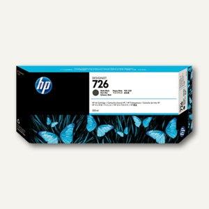HP Tintenpatrone Nr. 726 schwarz matt, 300 ml, CH575A