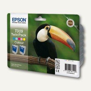 Epson Tintenpatrone T009, 5-farbig, Doppelpack, C13T00940210