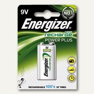 Energizer Akkus PowerPlus, 175 mAh, 9V E-Block, HR22, 635584