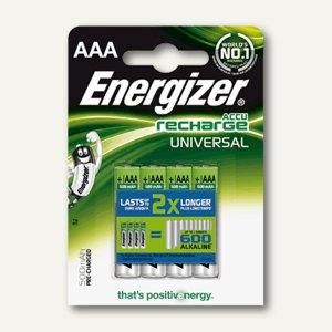 Energizer Akkus Universal, 700 mAh, Micro AAA, HR03, 4 Stück, 635673