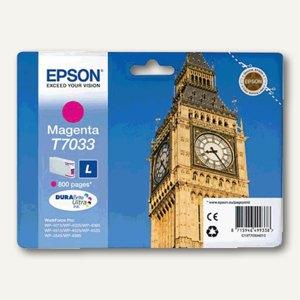 Epson Tintenpatrone T7033, magenta, C13T70334010