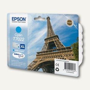 Epson Tintenpatrone T7022 XL, cyan, C13T70224010