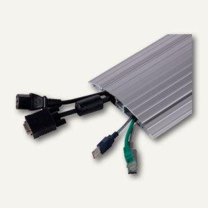Dataflex Kabelschutz 452, Gerade, Länge 1.18 m, aufklappbar, Aluminium, 31.452