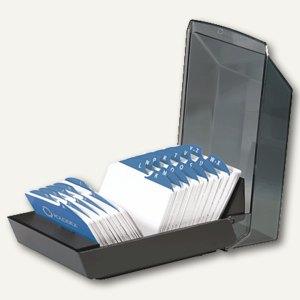 ROLODEX® Adresskartei VIP V mit Deckel, mit 500 Karten, schwarz, S0793840