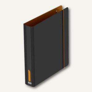 """Elba Ordner """"ELBA for Students"""", DIN A4, Breite: 50 mm, schwarz/orange,100023630"""