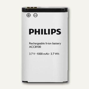 Philips Ersatz-Akku Li-Ion, für Diktiergeräte, ACC8100/00