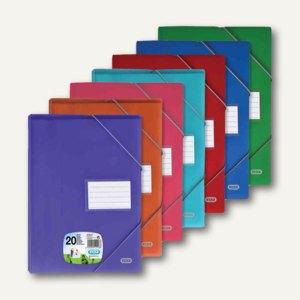 """Sichtbuch """"ELBA School Life"""", A4, 40 Hüllen, PP, sortiert, 20 Stück, 400023698"""