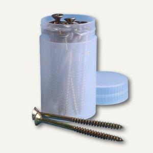 Runddose / Verpackungsröhre 0.15 Liter, 96 x 55 mm, PP, transparent, 5 Stk