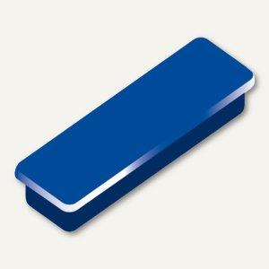 Alco Haftmagnet eckig, 13x40mm, 7 mm hoch, 0.3 kg, dunkelblau, 10 Stück, 6888V15