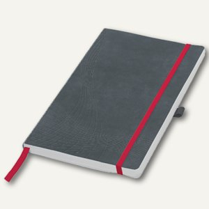 "Zweckform Notizbuch ""Notizio"", DIN A4, liniert, Softcover, grau, 80 Blatt, 7020"