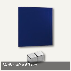 Magnetische Glastafel