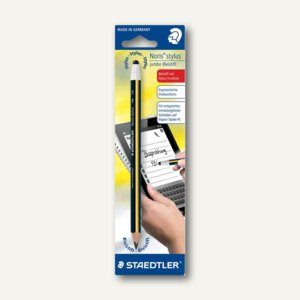Schreiblernbleistift Noris Stylus Jumbo, Eingabestift + Bleistift, 119 20BKLD