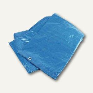 Abdeckplane, Industriequalität, 3.500 x 4.800 mm, wasserdicht, blau, 042-T-2