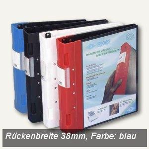 Wedo Präsentationsordner ERGOGRIP, DIN A4, Rücken 38mm, blau, 58 15003