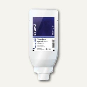 STOKO Hautschutzsalbe Travabon® special, 9x1000ml Softflaschen, 9 Liter, 28628