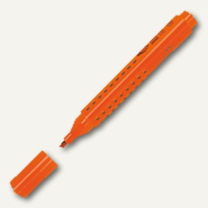FABER-CASTELL Textmarker TEXTLINER GRIP 1543, 1-5 mm, orange, 1 Stück, 154315
