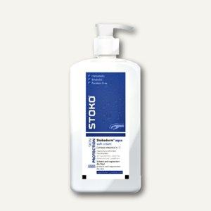 STOKO Hautschutzcreme Stokoderm® aqua, Pumpflaschen,silikonfrei, 10 Liter, 24668