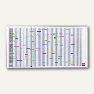 Franken Jahresplaner für 90 Positionen, 100 x 193 cm, SJP1990