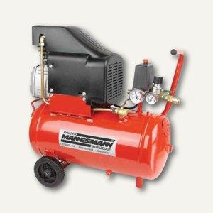 Brüder Mannesmann Kompressor mit Öl, 24 l, 2 PS, 1.5 kW, 12973