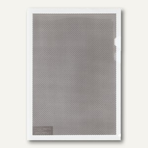 Plus Japan Sichthüllen Camouflage, DIN A4, mit Blickschutz, klar, 5 Stück, 89891