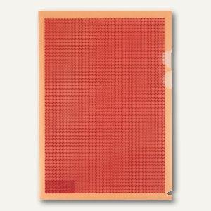 Plus Japan Sichthüllen Camouflage, DIN A4, mit Blickschutz, orange, 5 St., 89893