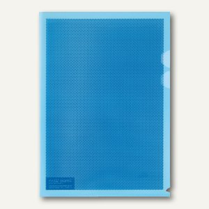 Plus Japan Sichthüllen Camouflage, DIN A4, mit Blickschutz, blau, 5 Stück, 89892