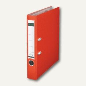 LEITZ Kunststoffordner 180°, Rückenbreite 52 mm, hellrot, PP, 1015-50-20