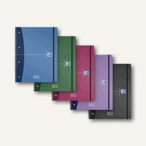 "Oxford Collegeblock ""Movebook"", A4+, kariert, sortiert, 400011306"