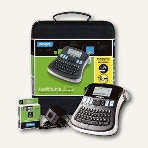 Dymo Beschriftungssystem LabelManager 210D Kofferset + Netzteil, S0964070