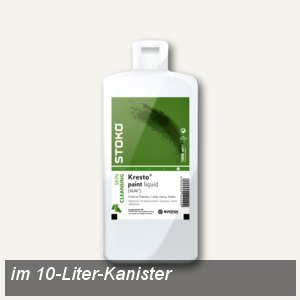 STOKO Hautreiniger Kresto® paint liquid, 10-Liter-Kanister, 10 Liter, 81926A01