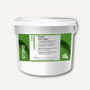 STOKO Reinigungstücher Kresto kwik-wipes®, 4x70-Tücher-Eimer, 280 Stück, 23122