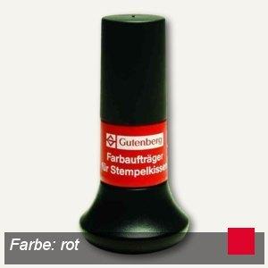 Gutenberg Stempelfarbe, rot, Inhalt: 30 ml, 20001