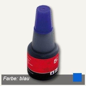 officio Stempelfarbe für alle Stempelkissen, blau, 28 ml, 961552
