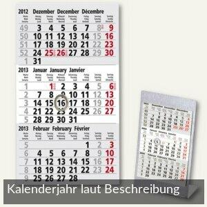 Artikelbild: Kalendarium für 3-Monats-Tischaufstellkalender