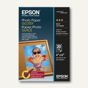 Epson Fotopapier Glossy, 10 x 15 cm, 200 g/m², 20 Blatt, C13S042546