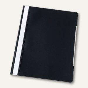 officio Schnellhefter, A4, PVC, schwarz, 5 Stück