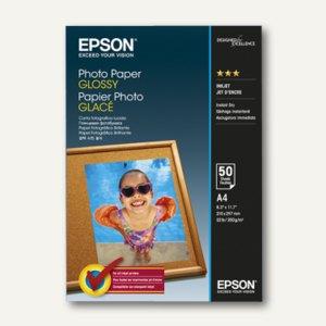 Epson Fotopapier Glossy, DIN A4, 200 g/m², 50 Blatt, C13S042539