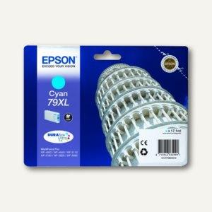 Epson Tintenpatrone 79XL, 17.1 ml, cyan, C13T79024010