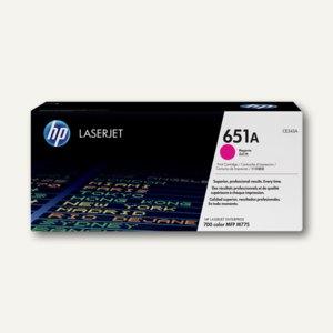 HP Toner Nr. 651A, 16.000 Seiten, magenta, CE343A