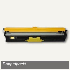 Brother Jumbo-Toner, 2 x ca. 6.000 Seiten, gelb, Doppelpack, TN329YTWIN