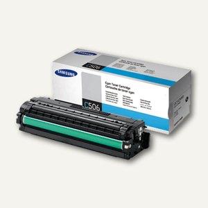 Samsung Tonerkartusche, ca. 1.500 Seiten, cyan, CLTC506S/ELS