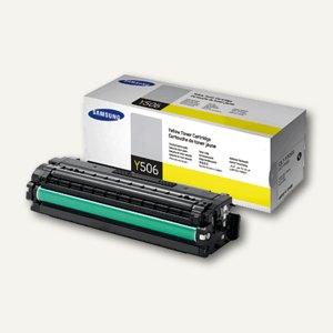 Samsung Tonerkartusche, ca. 1.500 Seiten, gelb, CLT-Y506S/ELS